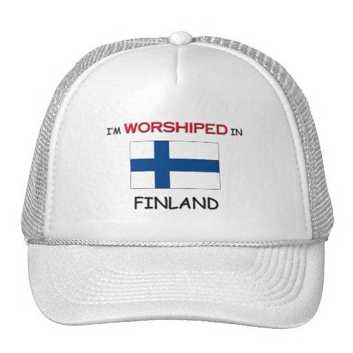 Me adoran en FINLANDIA Gorros Bordados