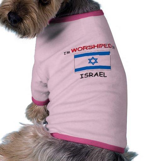 Me adoran en ISRAEL Camisas De Mascota
