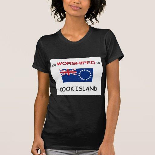 Me adoran en la ISLA de COCINERO Camisetas