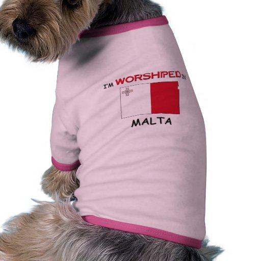 Me adoran en MALTA Camisetas De Mascota