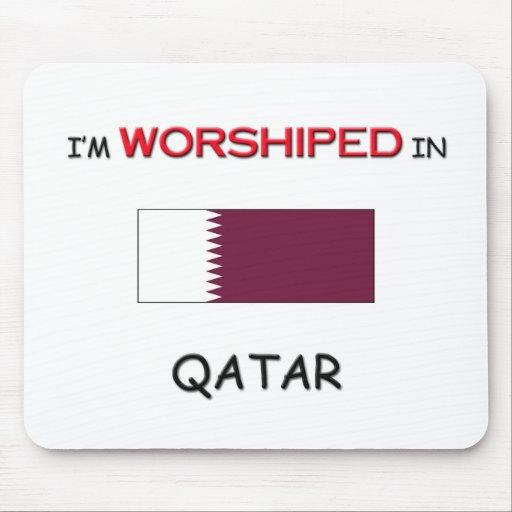 Me adoran en QATAR Tapetes De Ratones