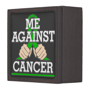 Me Against Kidney Cancer Premium Keepsake Boxes