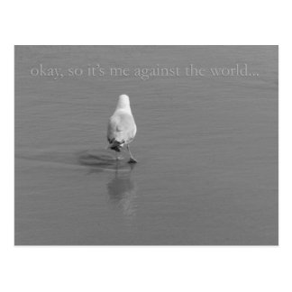Me against the World Post Cards