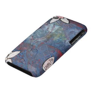 Me ama caja del teléfono iPhone 3 protectores