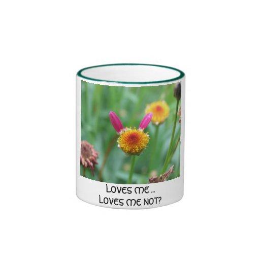 ¿Me ama los amores yo no? - Modificado para Taza De Dos Colores