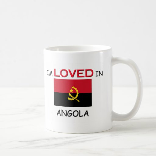 Me aman en ANGOLA Taza De Café