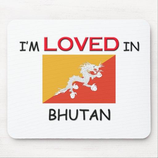 Me aman en BHUTÁN Tapete De Raton