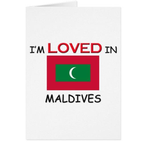 Me aman en MALDIVAS Tarjetas
