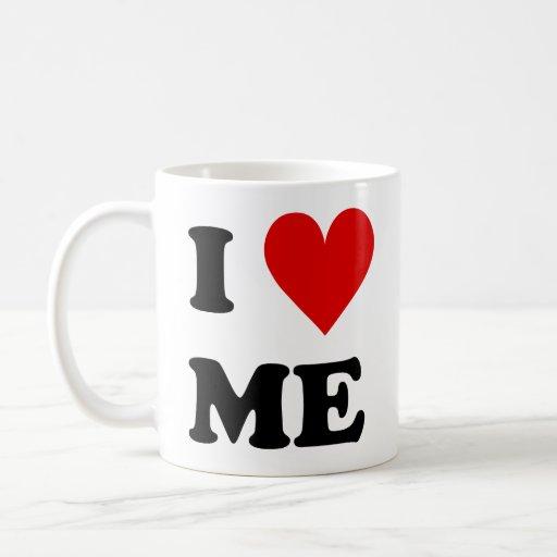 Me amo corazón taza clásica