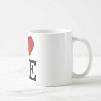 Me amo corazón yo dignidad de la confianza del taza