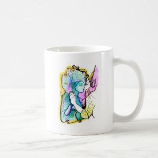 Me amo - o el espejo mágico tazas de café