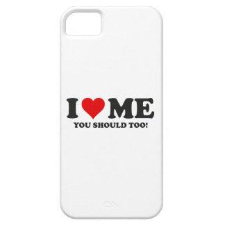 Me amo que usted debe también funda para iPhone 5 barely there