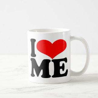 Me amo taza del café/de té