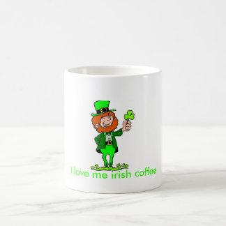 Me amo taza del café irlandés