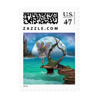 ME and Green Faerie Postage 1sm