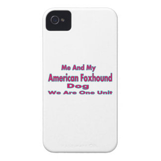 Me And My American Foxhound Dog iPhone 4 Case-Mate Cases