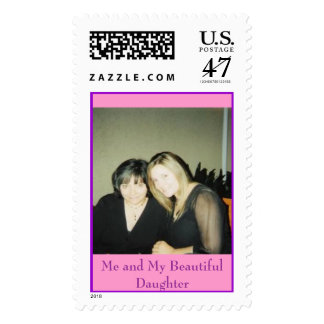 Me and My Beautiful Daughter Postage