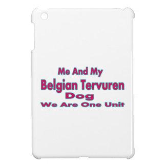 Me And My Belgian Tervuren Dog iPad Mini Covers