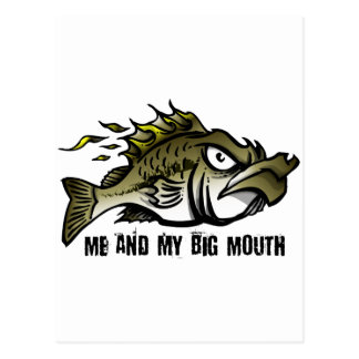Me and my Big Mouth Postcard