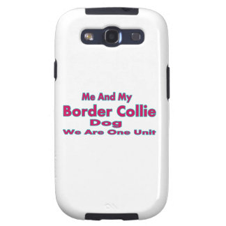 Me And My Border Collie Dog Samsung Galaxy SIII Case
