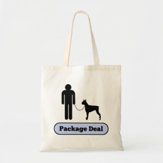 Me and My Boxer Dog Package Deal Tote Bag
