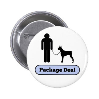 Me and My Boxer Package Deal Button