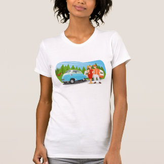 me and my boy - a road trip to... tee shirt