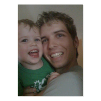 Me and My Daddy Large Business Cards (Pack Of 100)