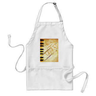 Me and my Flutes_ Adult Apron