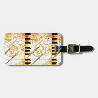 Me and my Flutes_ Luggage Tags