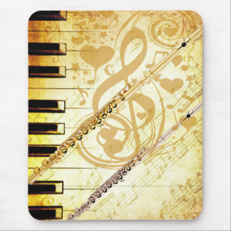 Me and my Flutes_ Mouse Pad
