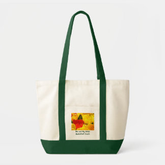 Me and My Girls! Basketball Coach Tote bag gifts