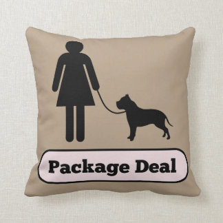 Me and My Pitbull Package Deal Throw Pillow