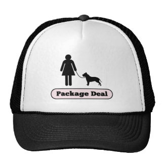 Me and My Pitbull Package Deal Trucker Hat