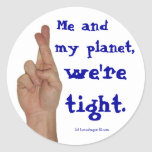 Me and My Planet Stickers
