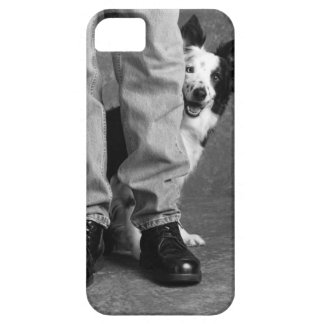Me and My Shadow - Collie Dog iPhone SE/5/5s Case