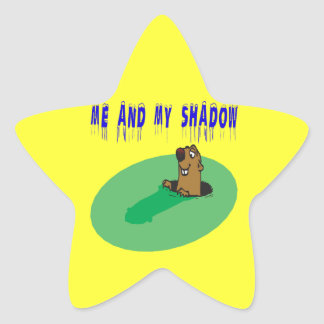 Me And My Shadow Star Sticker