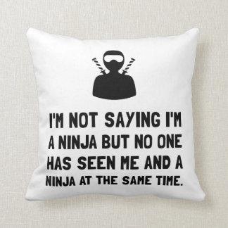 Me And Ninja Pillow