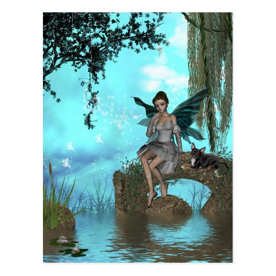 ME and the faeries 23 Postcard