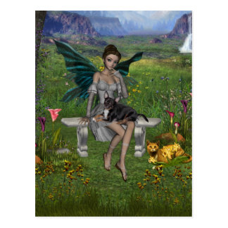 ME and the faeries 25 Post Card