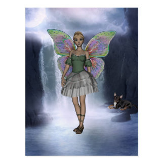 ME and the faeries 3 Postcard