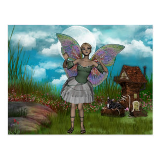 ME and the faeries 5 Postcards