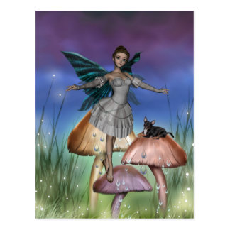 ME and the faeries 9 Post Card