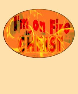 Me ardo para CRISTO Camisetas