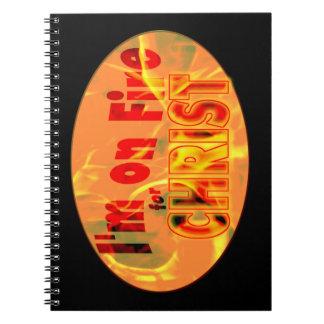 Me ardo para CRISTO Cuaderno