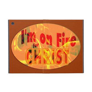 Me ardo para CRISTO iPad Mini Cárcasa