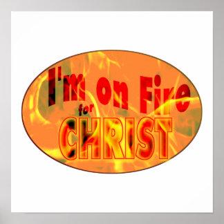 Me ardo para CRISTO Poster