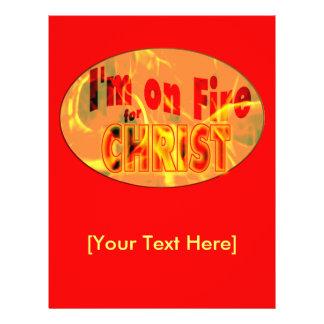 Me ardo para CRISTO Tarjetón