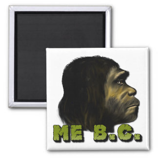 Me B.C. 2 Inch Square Magnet
