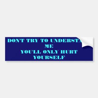 Me Bumper Sticker